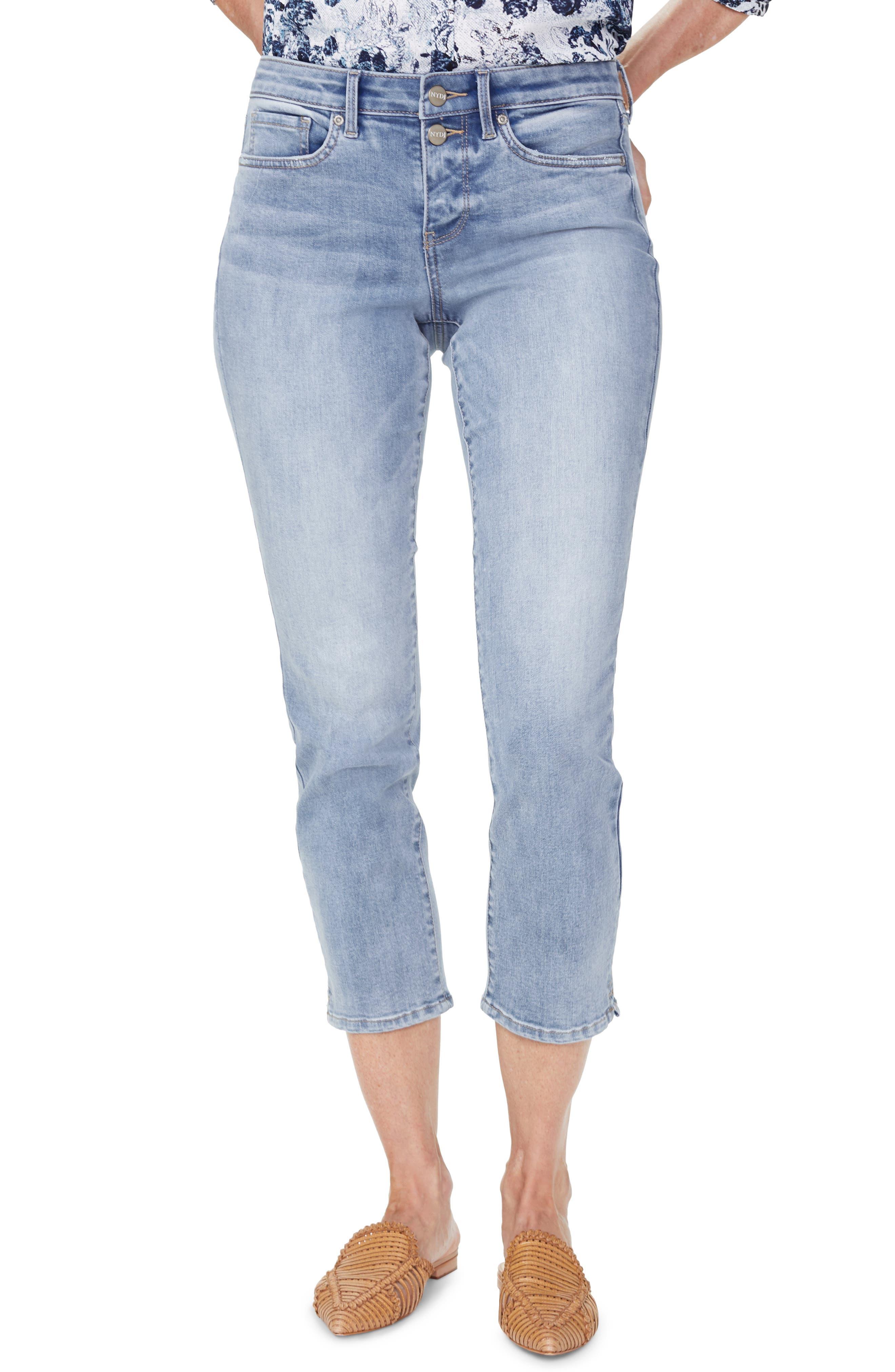 Image of NYDJ Sheri Stretch Ankle Jeans