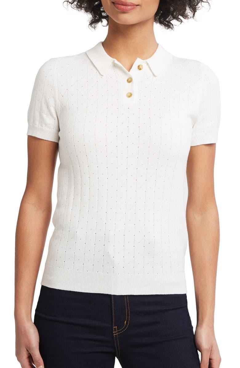 MODCLOTH Polo Sweater, Main, color, 900