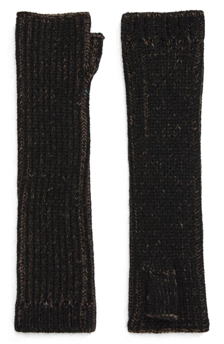 BP. Fingerless Gloves, Main, color, BLACK COMBO