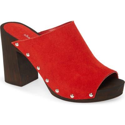 Charles David Electric Slide Sandal - Red
