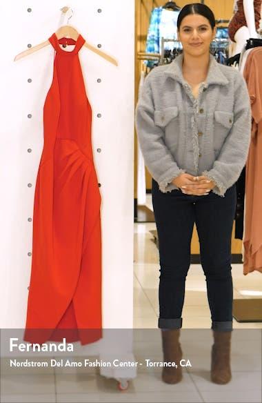 C/MEO Caliber Halter Midi Dress, sales video thumbnail