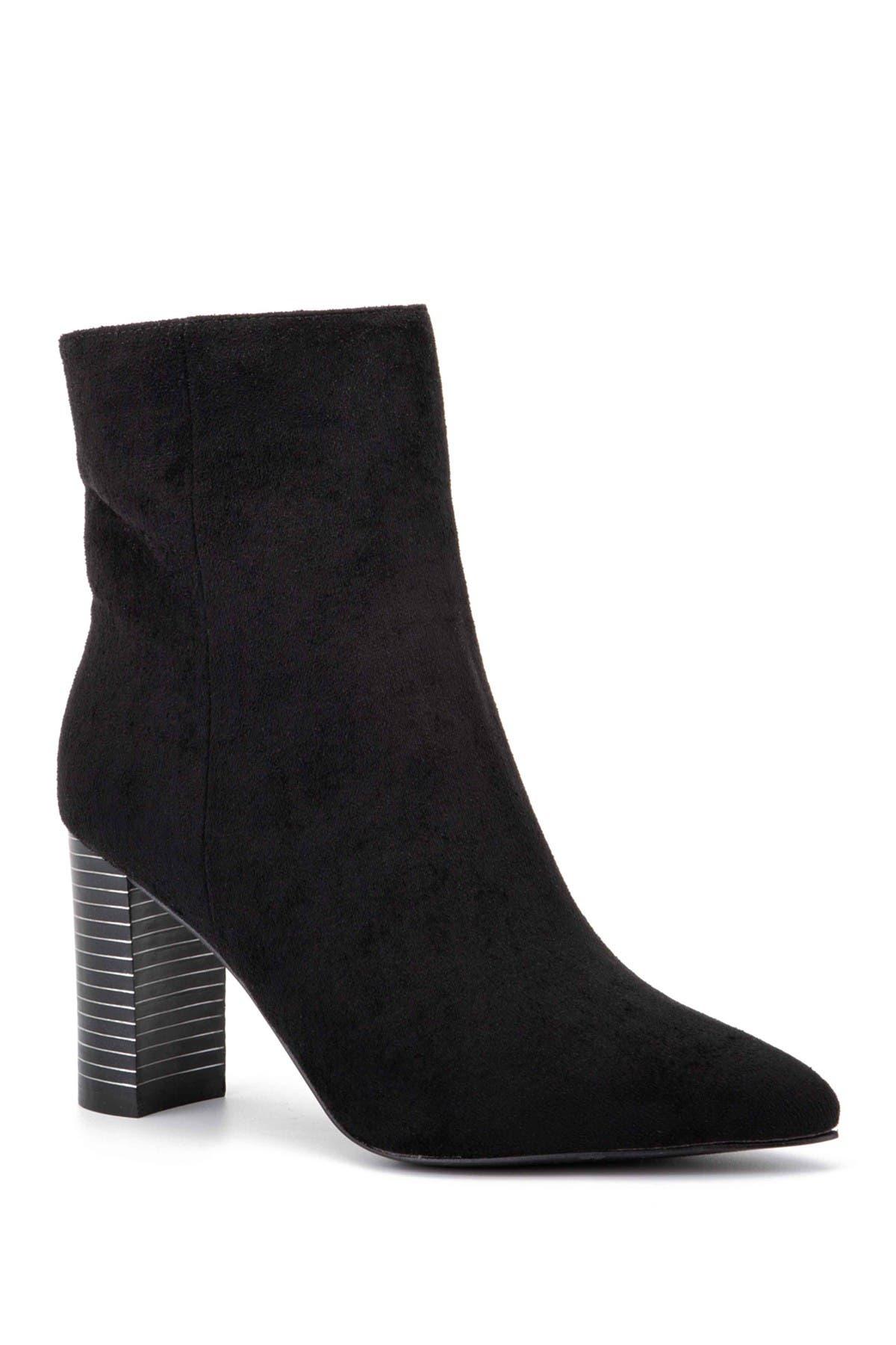 Image of OLIVIA MILLER Vogue Chunky Heel Bootie