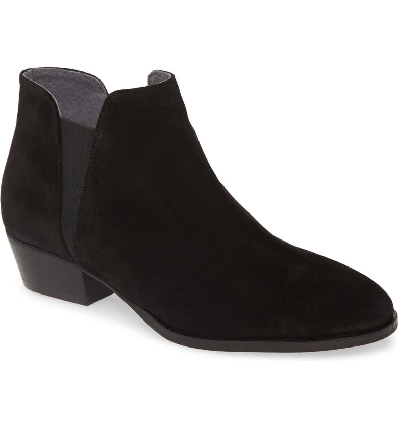 SEYCHELLES Waiting for You Chelsea Boot, Main, color, BLACK SUEDE
