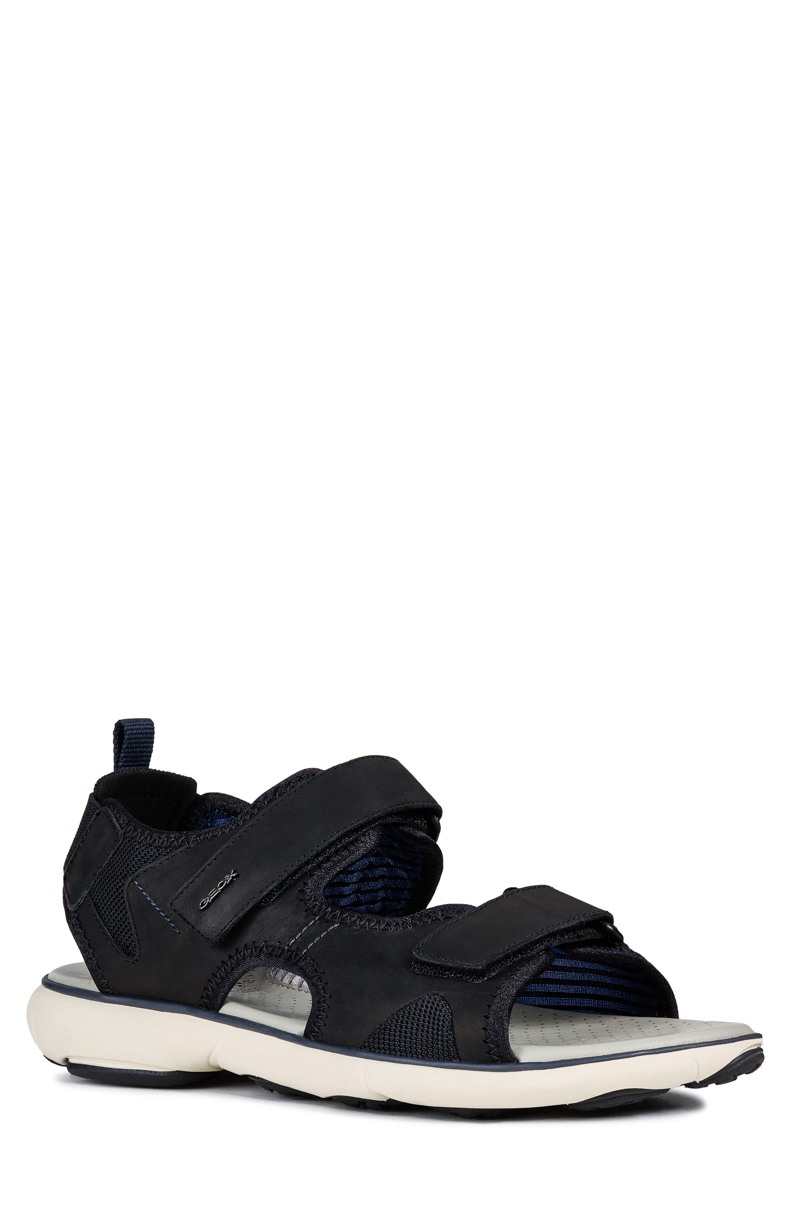 Geox Nebula L2 Sandal, Black