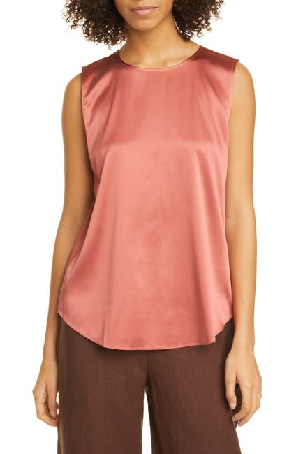 Image of Eileen Fisher Stretch Silk Blend Tank
