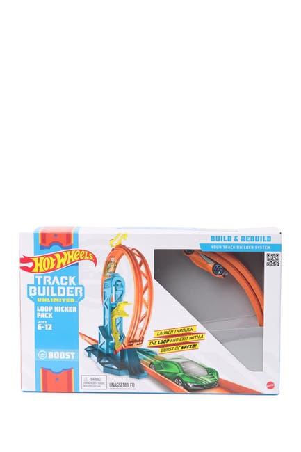 Image of Mattel Hot Wheels Track Builder Unlimited Loop Kicker Pack - Style May Vary