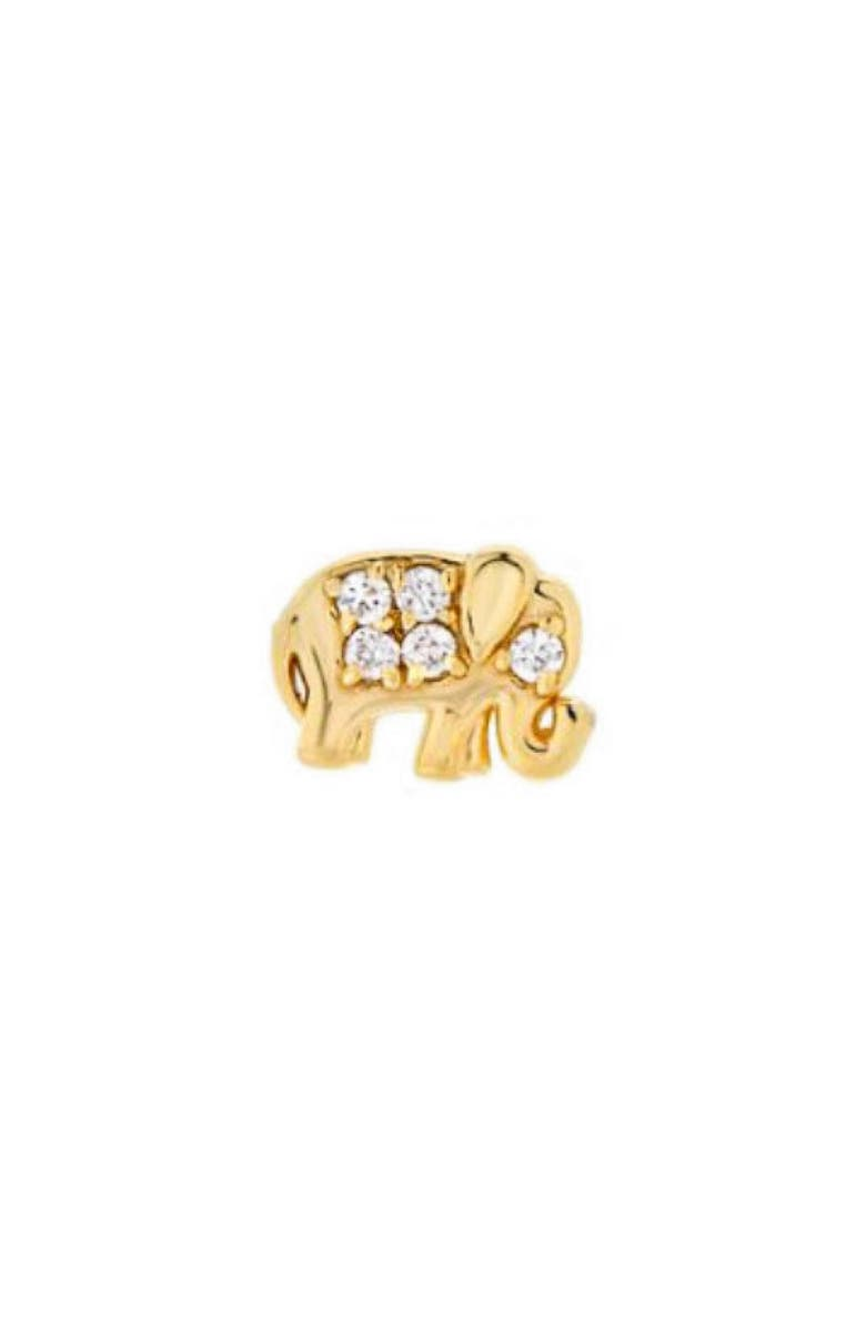 Mini Mini Jewels Diamond Icon Elephant Earring
