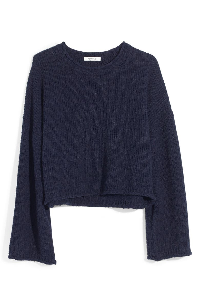 MADEWELL Brownstone Pullover Sweater, Main, color, 400