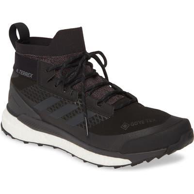 Adidas Terrex Free Hiker Gore-Tex Waterproof Hiking Boot- Black