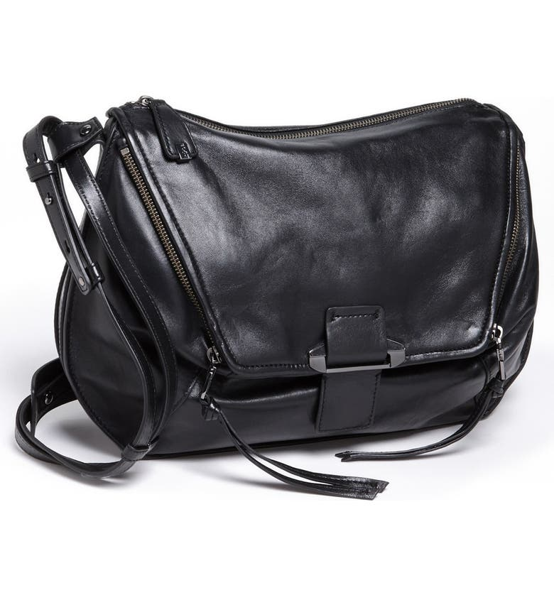 KOOBA 'Leroy' Shoulder Bag, Main, color, 001