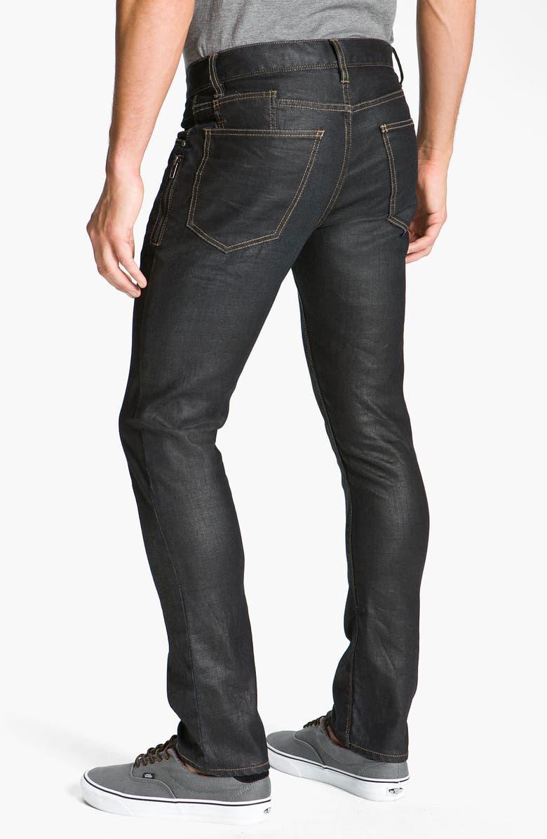 HOWE 'Drink on Me' Slim Straight Leg Jeans, Main, color, 410