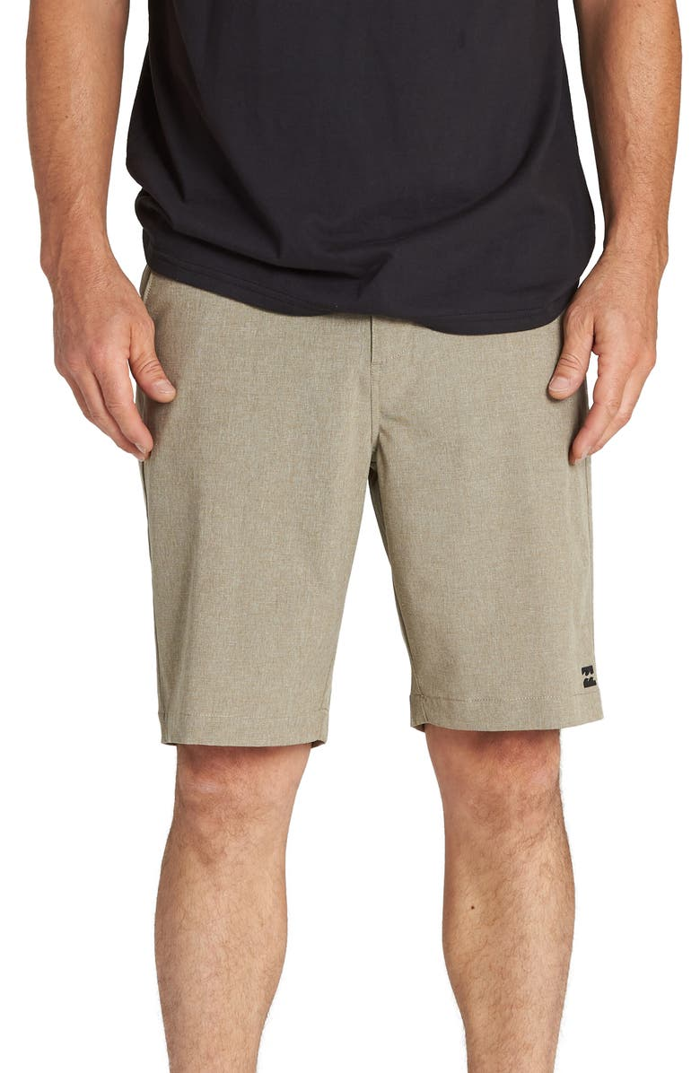 BILLABONG Crossfire X Hybrid Shorts, Main, color, KHAKI