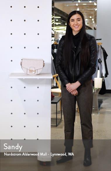 Brandu Faux Leather Shoulder Bag, sales video thumbnail