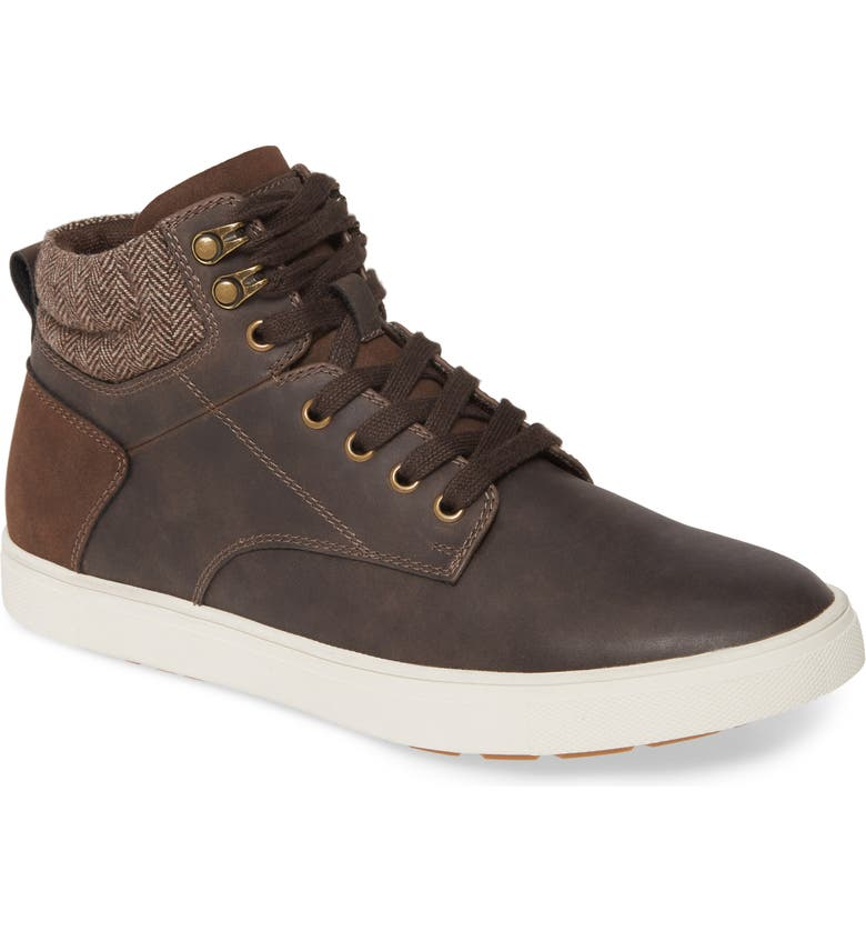 BP. Cory High-Top Sneaker, Main, color, BROWN