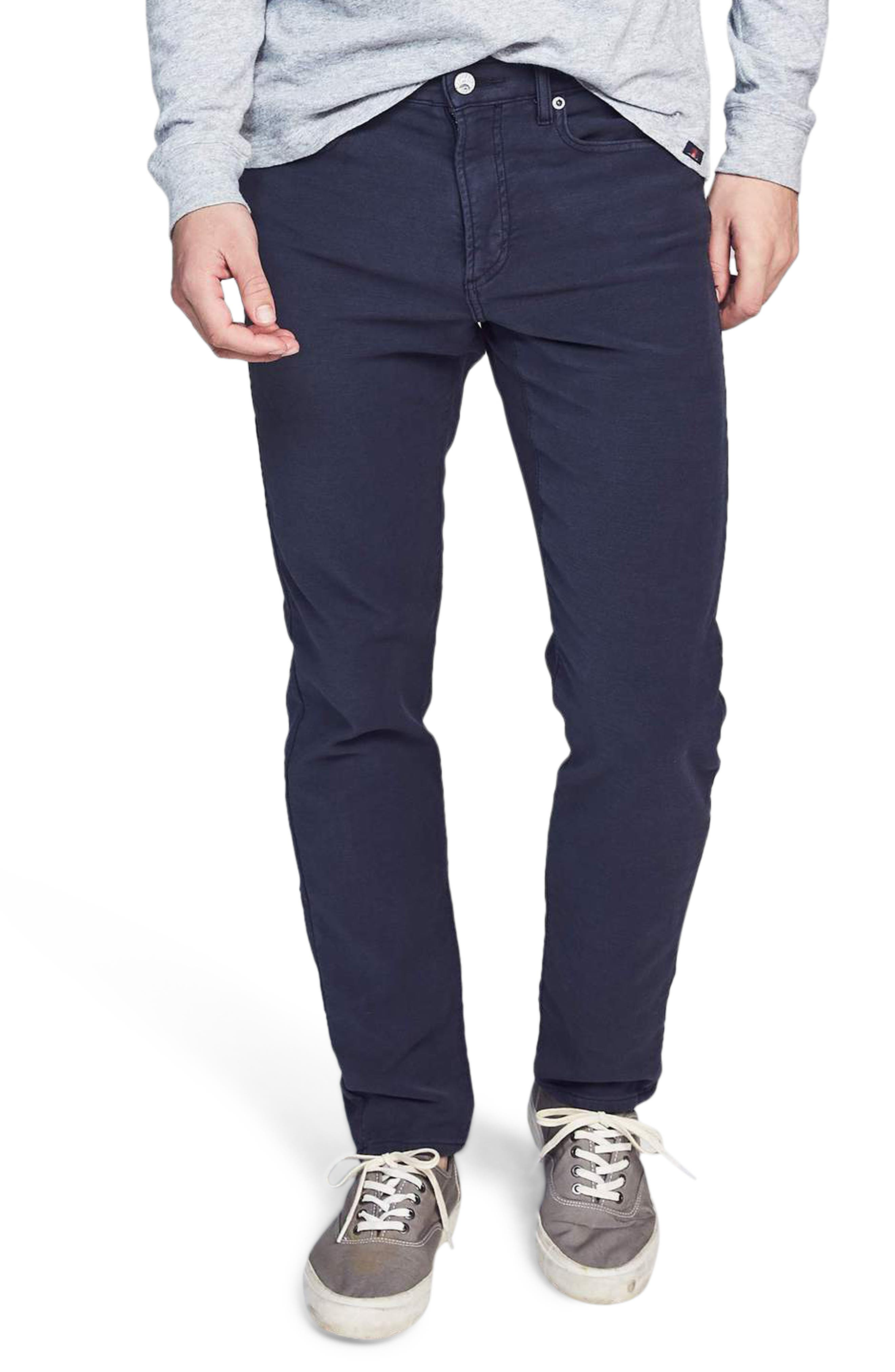 Stretchy cotton French terry brings ridiculous softness to pants styled with five-pocket construction and easy comfort that\\\'ll make them an instant favorite. Style Name: Faherty Stretch Terry 5-Pocket Pants. Style Number: 5923245. Available in stores.