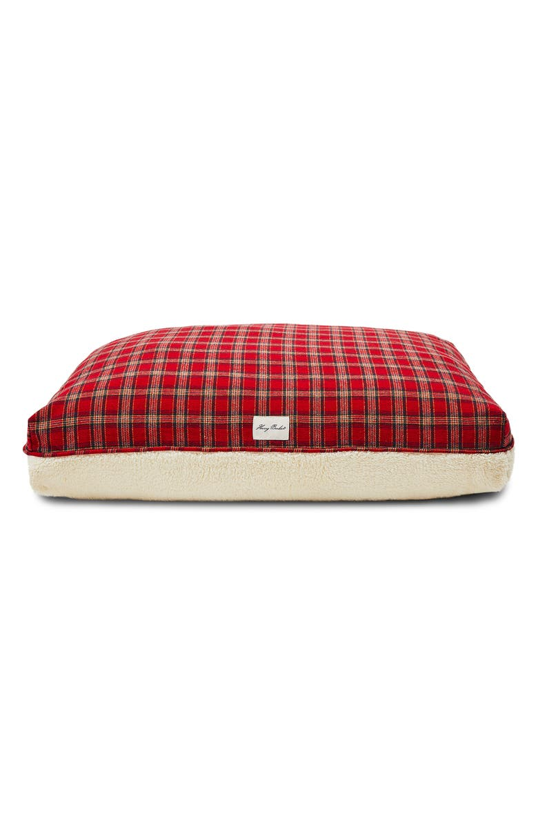 HARRY BARKER Plaid Rectangle Dog Bed, Main, color, 600