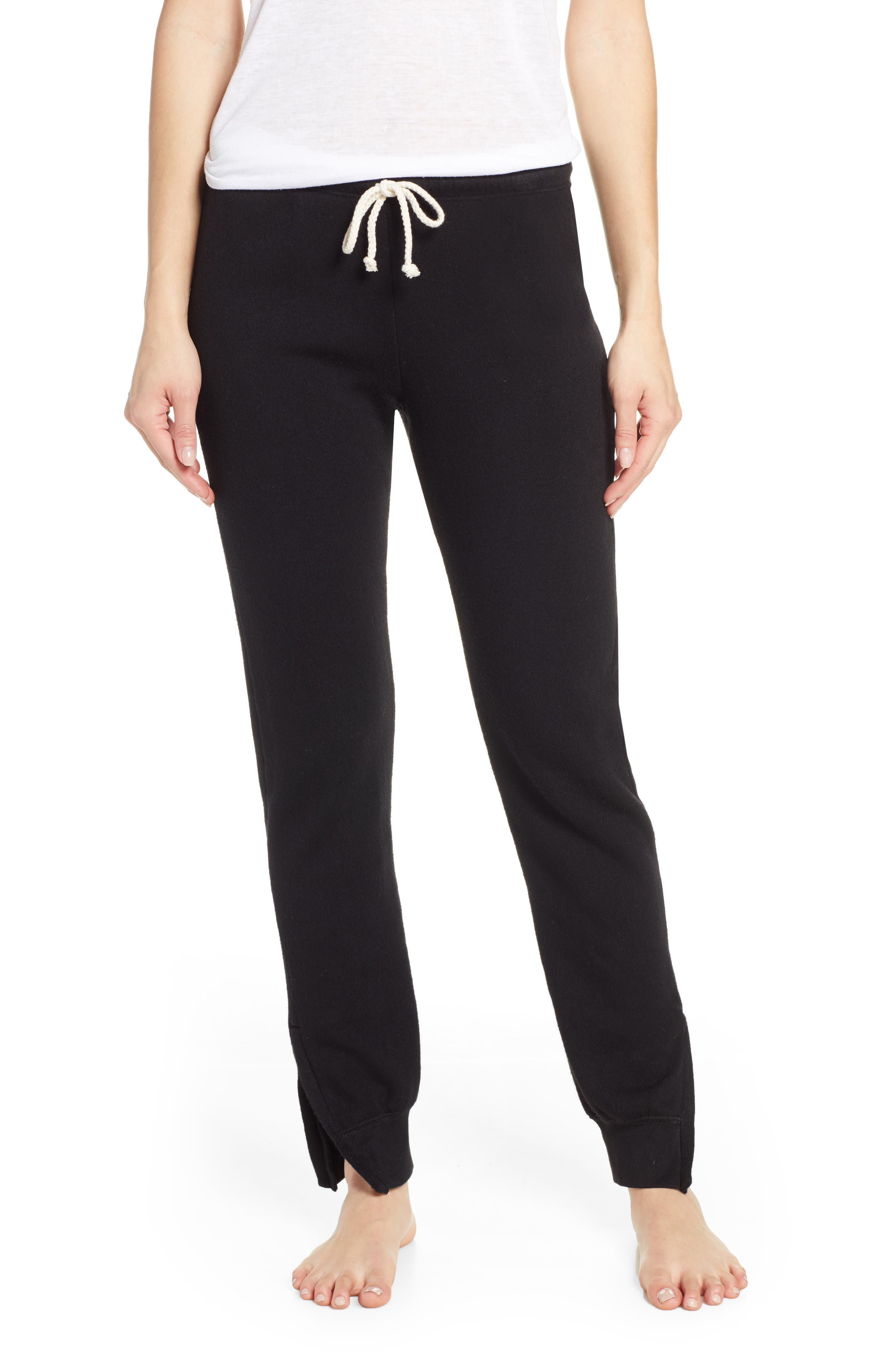 Project Social T Forever Classic Pajama Pants, Black