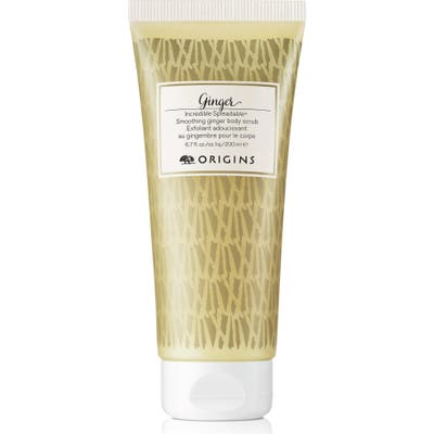 Origins Ginger Incredible Spreadable(TM) Smoothing Body Scrub