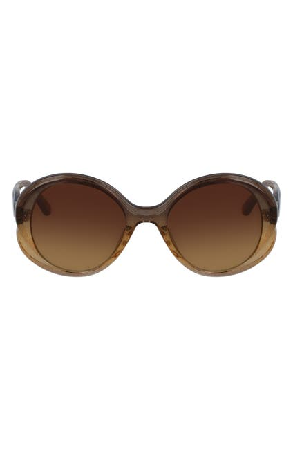 Image of Chloe 47mm Oval Sunglasses