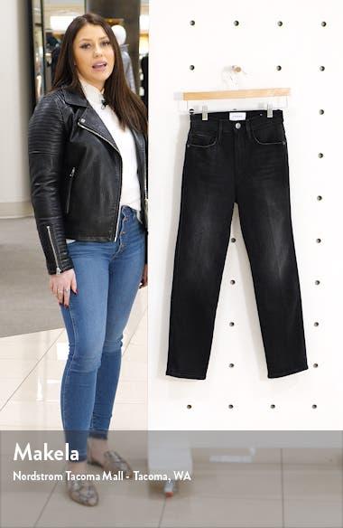 Le Pixie Sylvie High Waist Slender Straight Leg Jeans, sales video thumbnail