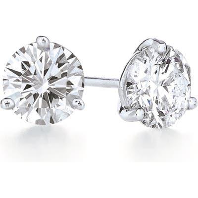 Kwiat 1.42Ct Tw Diamond & Platinum Stud Earrings