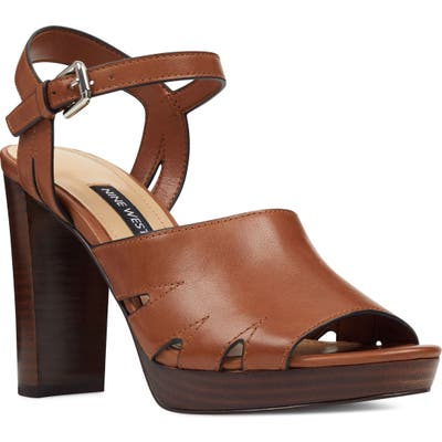 Nine West Delilah Cutout Sandal, Brown