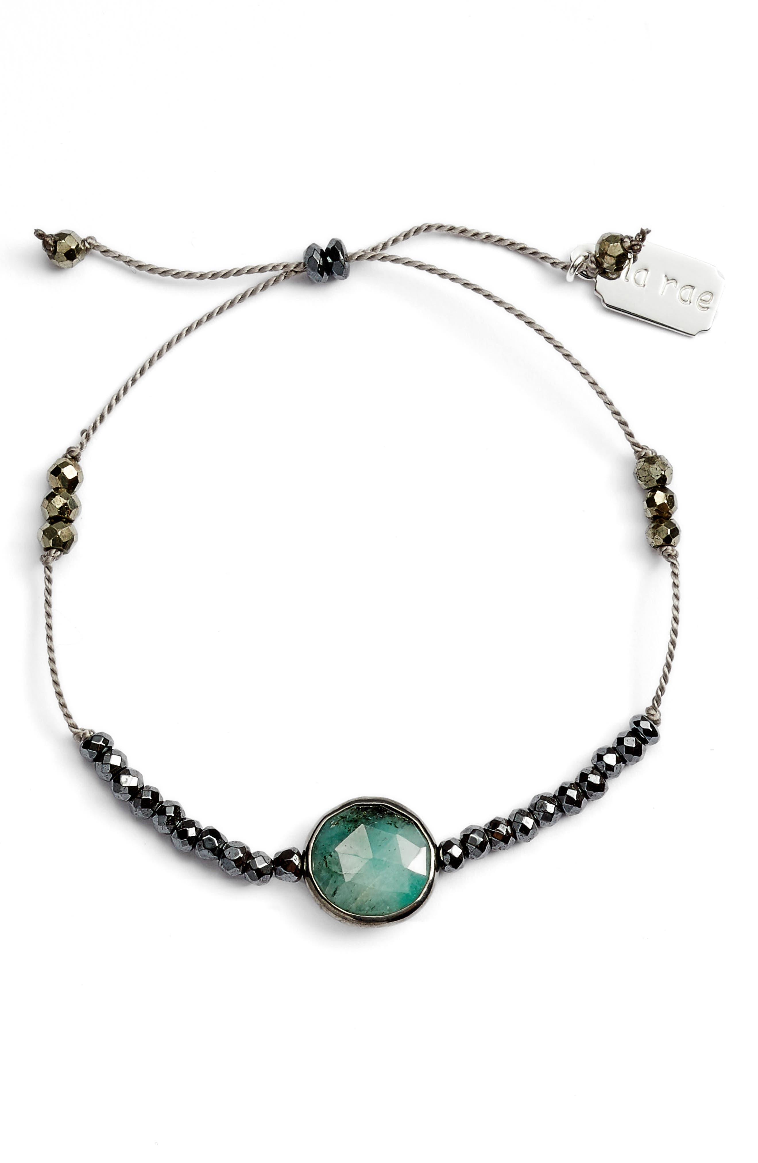 Sylvie Semiprecious Stone Bracelet