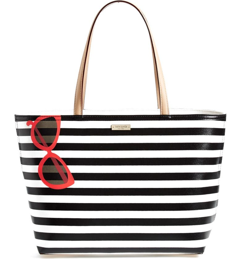 KATE SPADE NEW YORK 'splash out - francis' tote, Main, color, 100