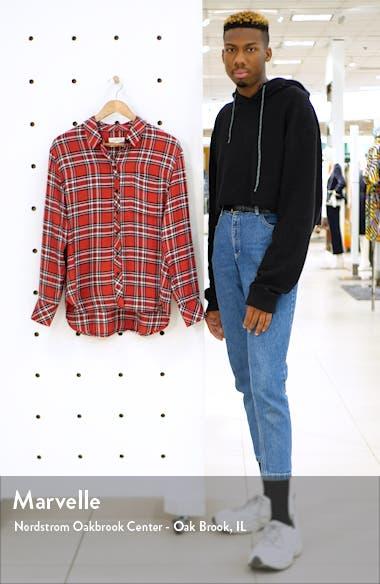 Plaid Boyfriend Shirt, sales video thumbnail
