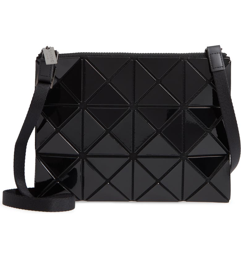 BAO BAO ISSEY MIYAKE Small Lucent Crossbody Bag, Main, color, BLACK
