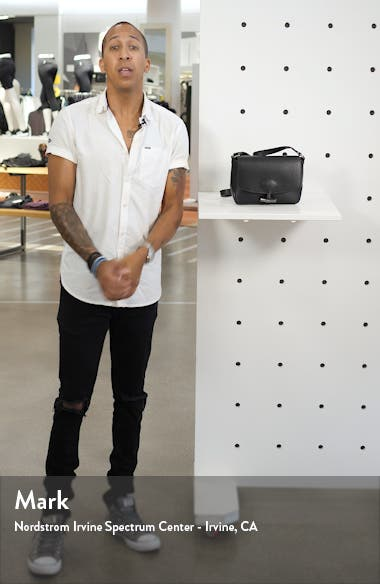 Roseau Leather Crossbody Bag, sales video thumbnail
