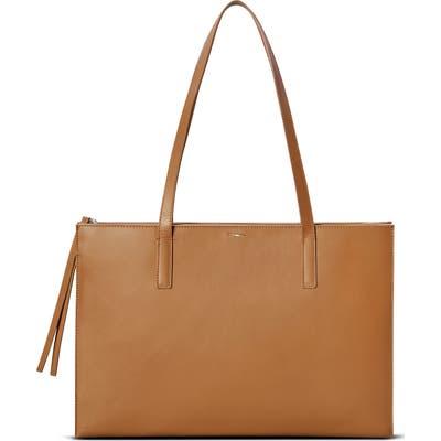 Shinola Accordion Leather Tote - Brown