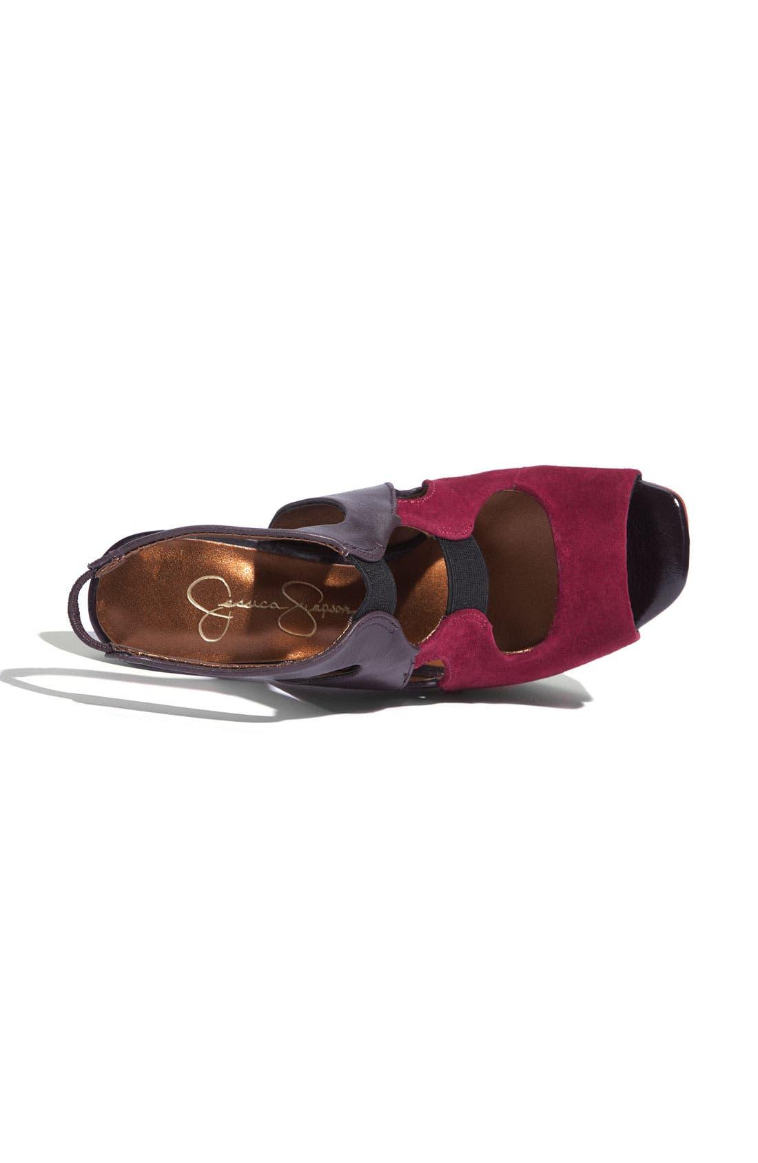 ,                             'Bendie' Platform Sandal,                             Alternate thumbnail 19, color,                             640