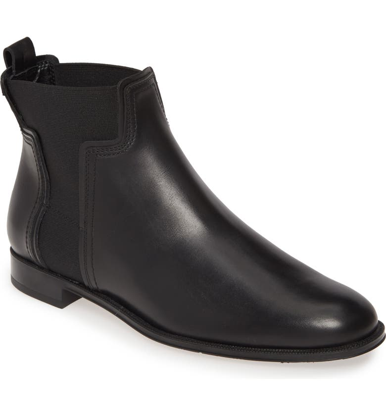 TOD'S T Logo Chelsea Boot, Main, color, 001