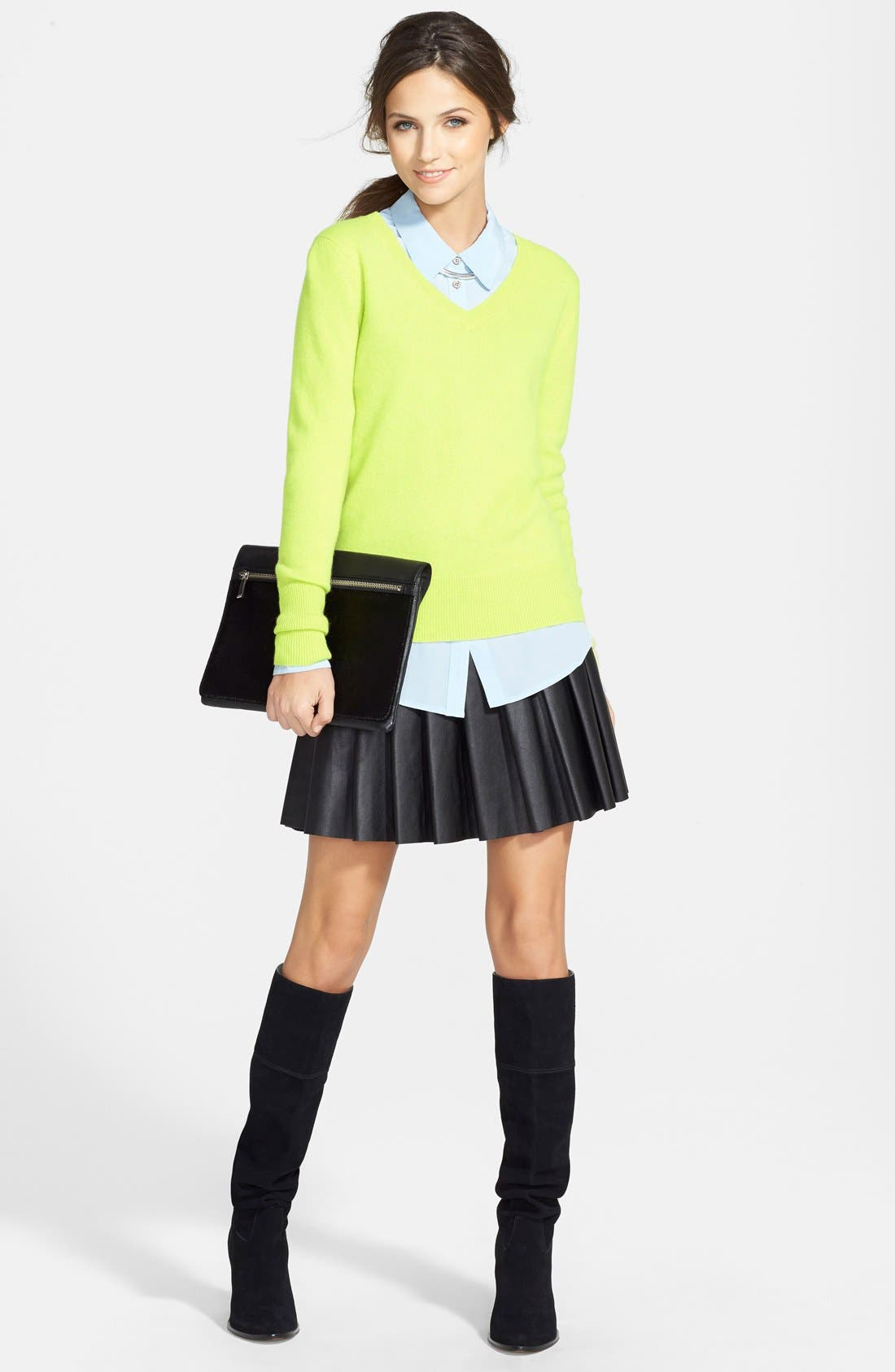 ,                             Cashmere V-Neck Sweater,                             Alternate thumbnail 29, color,                             310