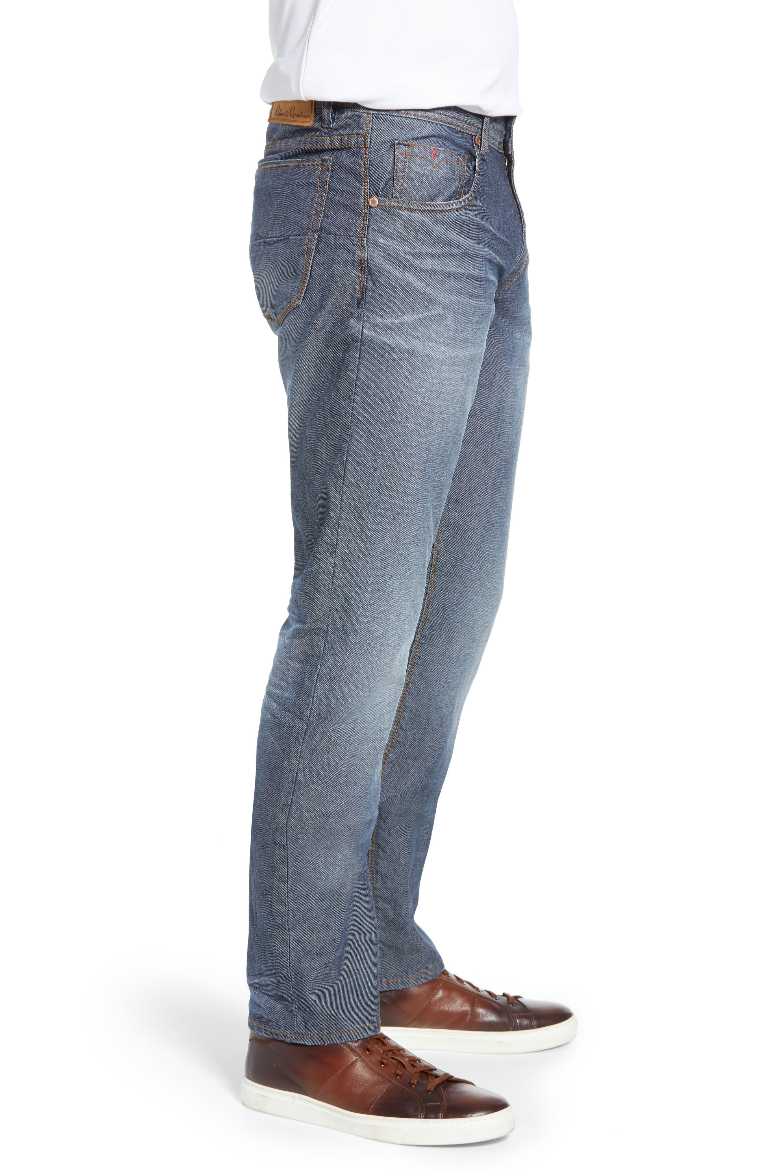 ,                             Loder Regular Fit Jeans,                             Alternate thumbnail 4, color,                             INDIGO