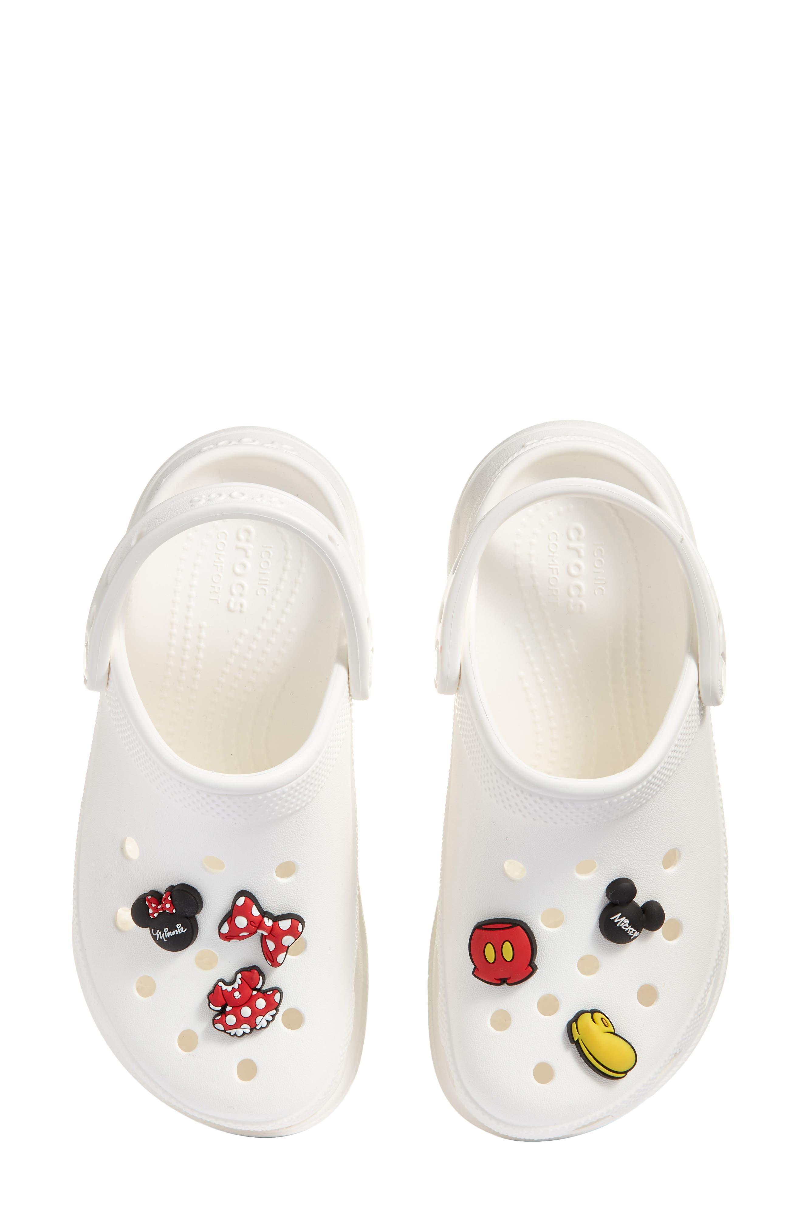 Disney X Crocs(TM) Bae Clog & 6-Pack Mickey & Minnie Jibbitz Shoe Charms