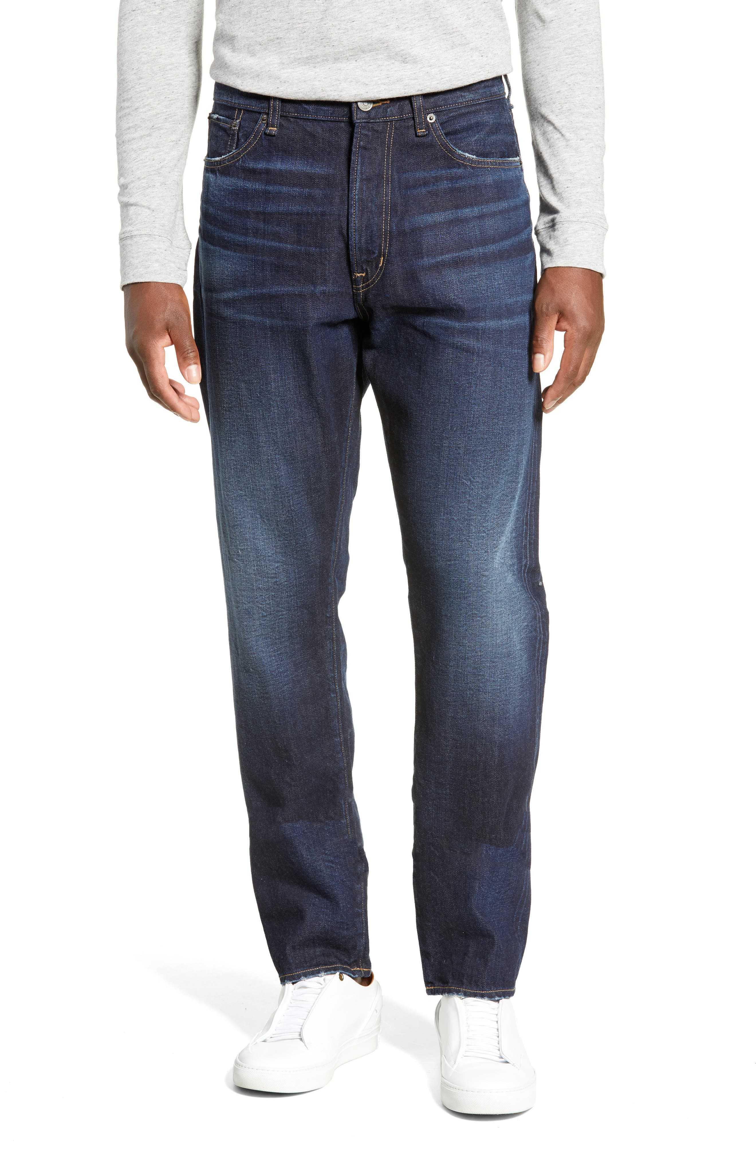 Taka Straight Leg Jeans, Main, color, GARRISON