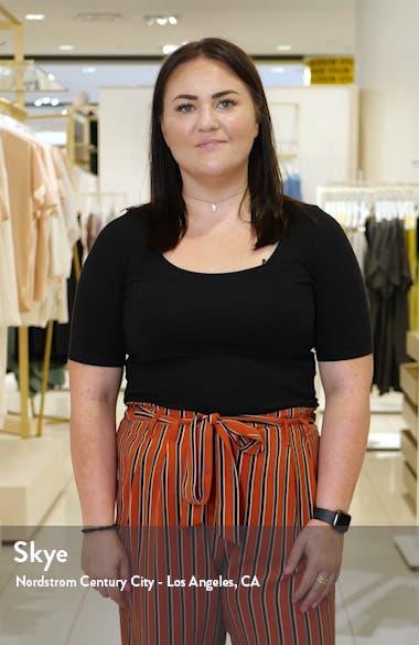 Acaena Floral Long Sleeve Cotton Shirtdress, sales video thumbnail