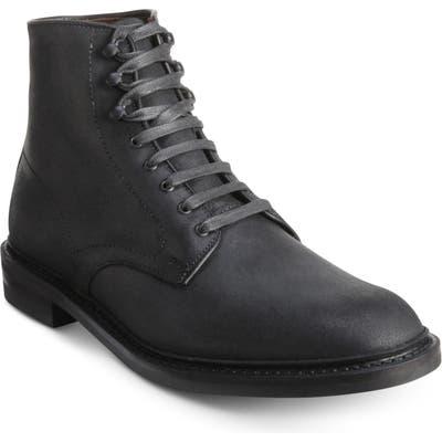 Allen Edmonds Higgins Mill Plain Toe Boot, Black