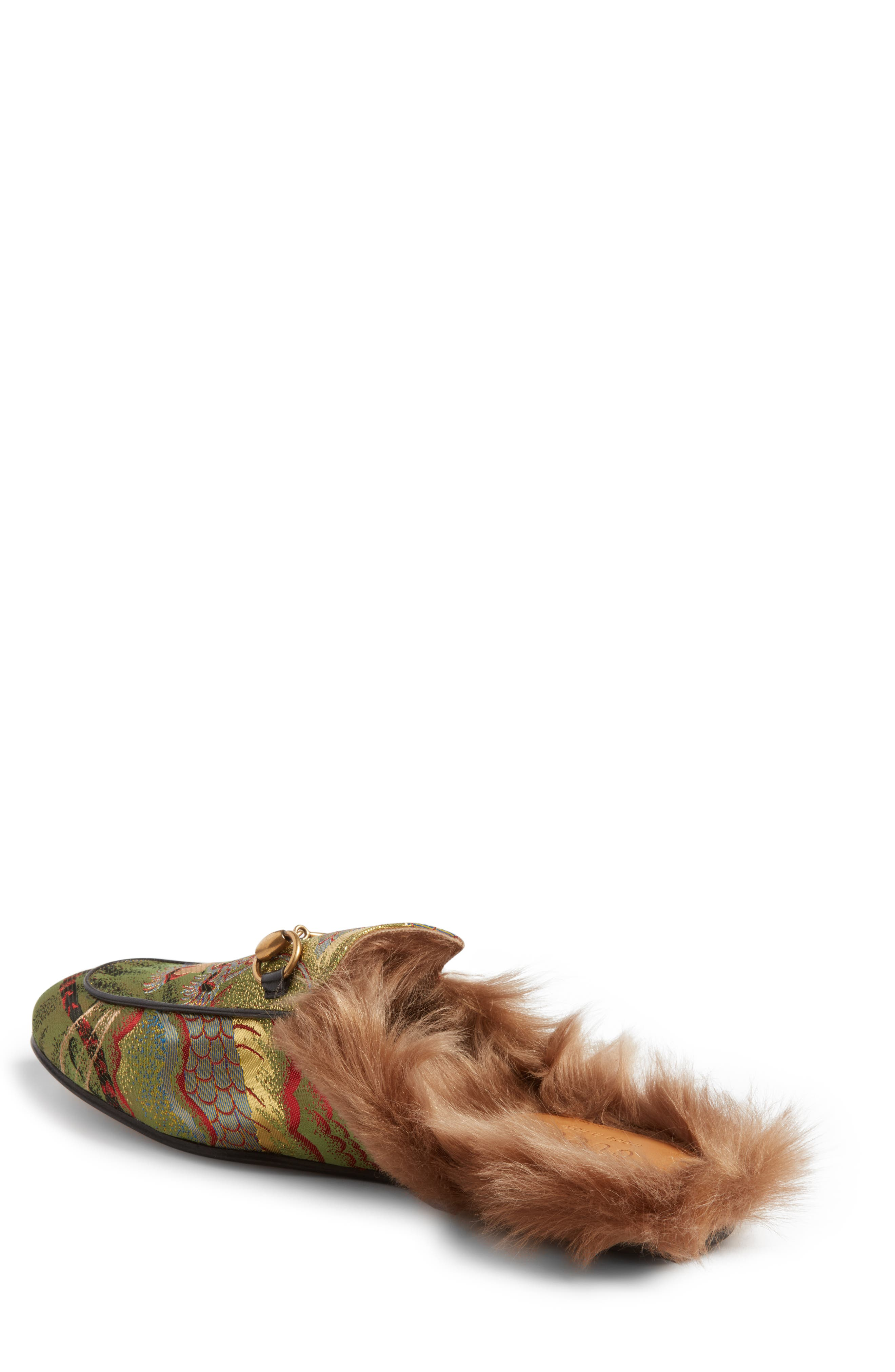 ,                             Princetown Genuine Shearling Lined Mule Loafer,                             Alternate thumbnail 50, color,                             351