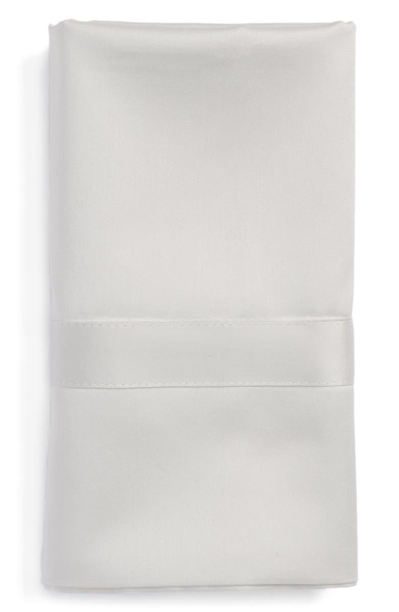 MATOUK Nocturne 600 Thread Count Pillowcase, Main, color, SILVER