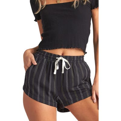 Billabong Road Trippin Stripe Shorts, Black