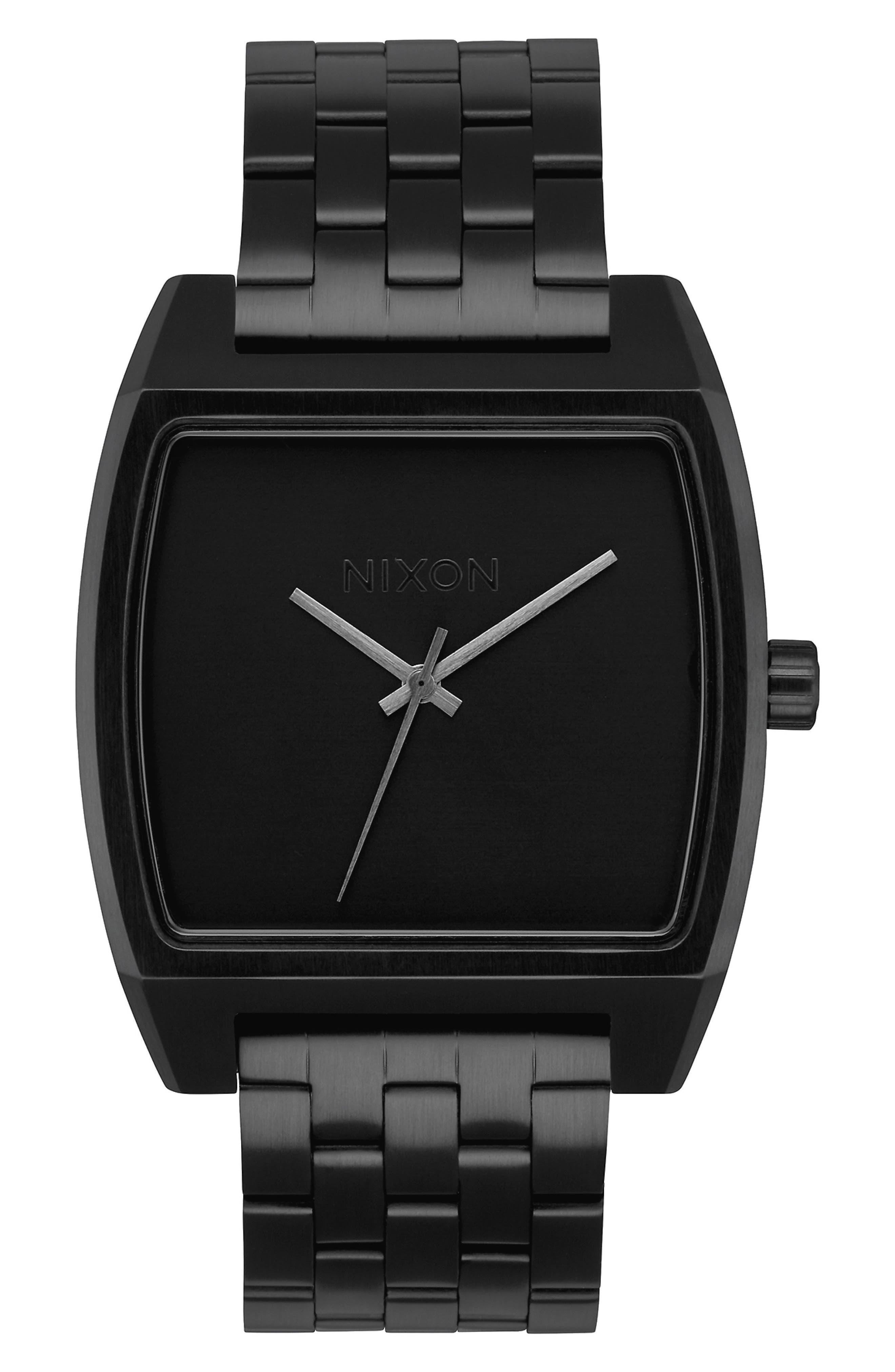 Image of Nixon Men's Time Tracker Bracelet Watch, 37mm