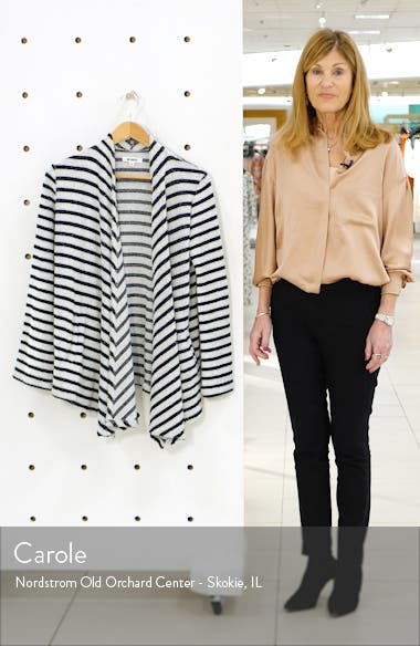Just Your Stripe French Terry Jacket, sales video thumbnail
