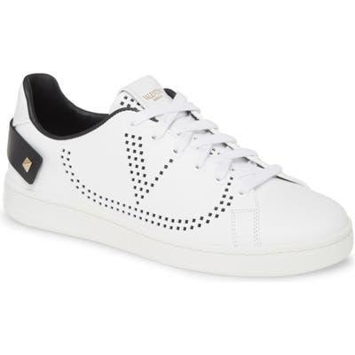 Valentino Garavani Backnet Perforated Sneaker