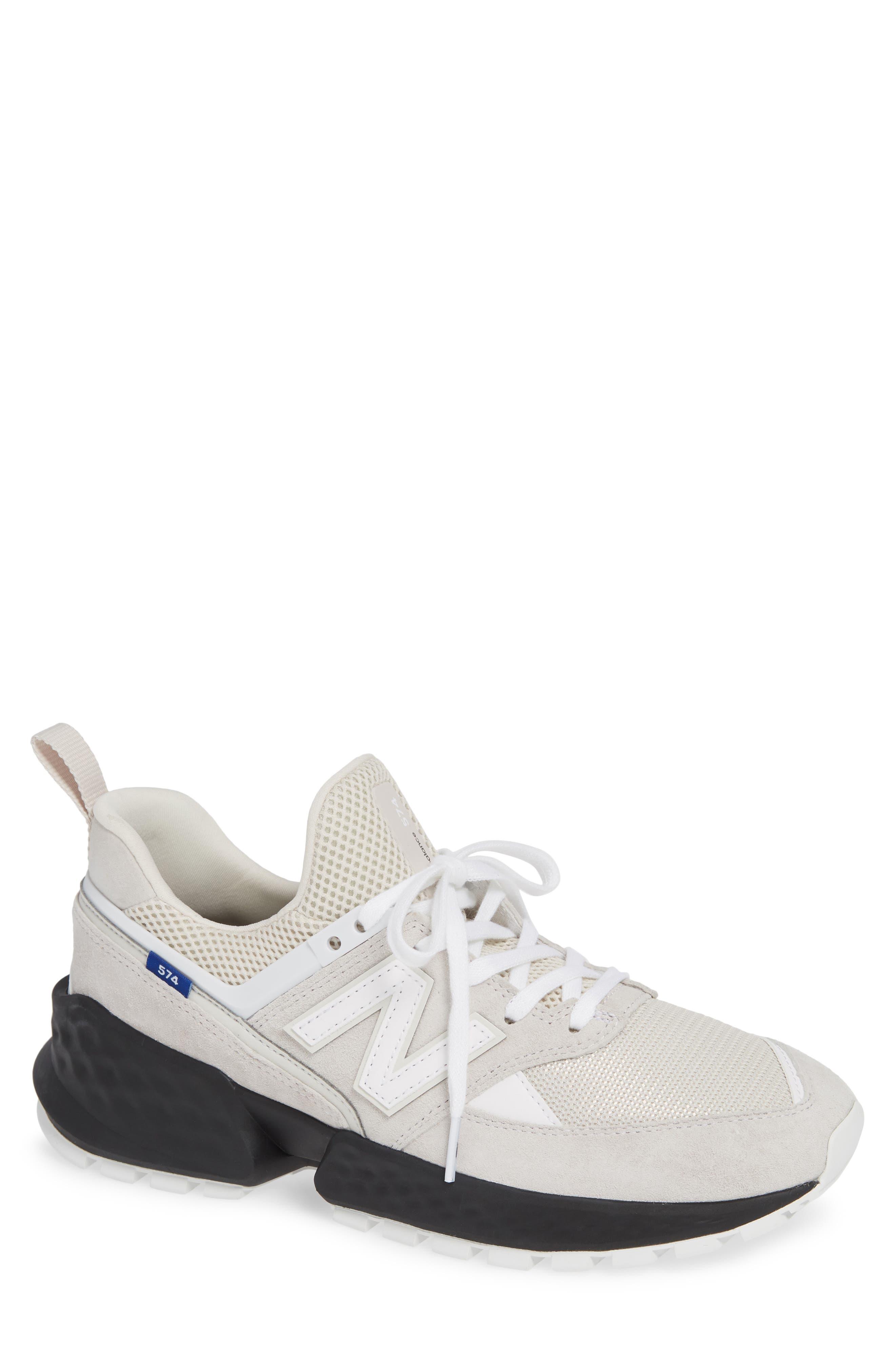 New Balance 574 Sport Sneaker - White