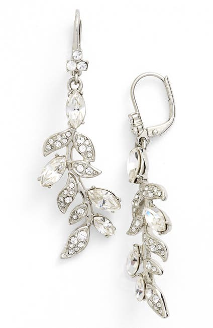 Image of Marchesa Leaf Drop Earrings