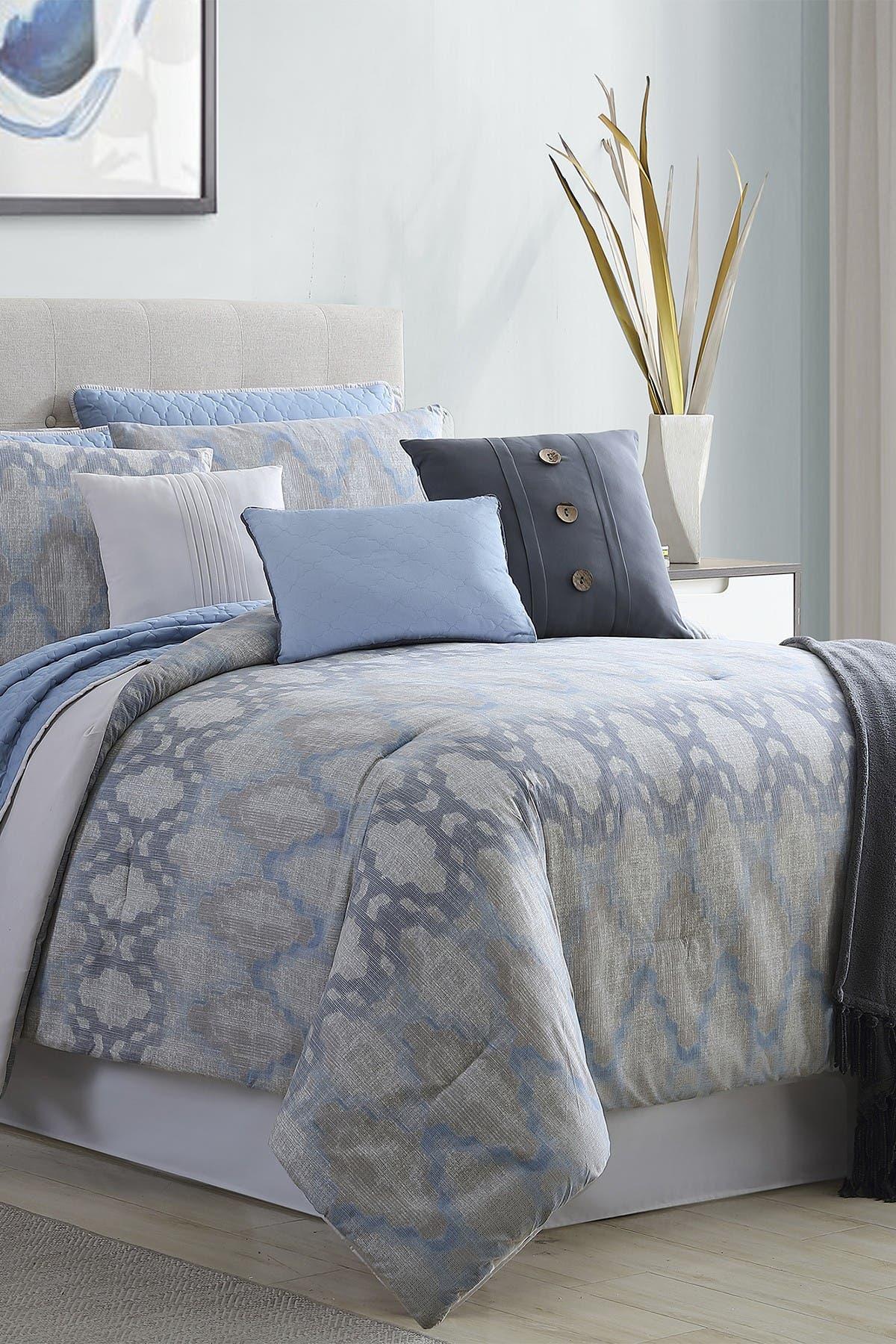 Image of Modern Threads Queen Langdon Comforter/Coverlet Set - Multi