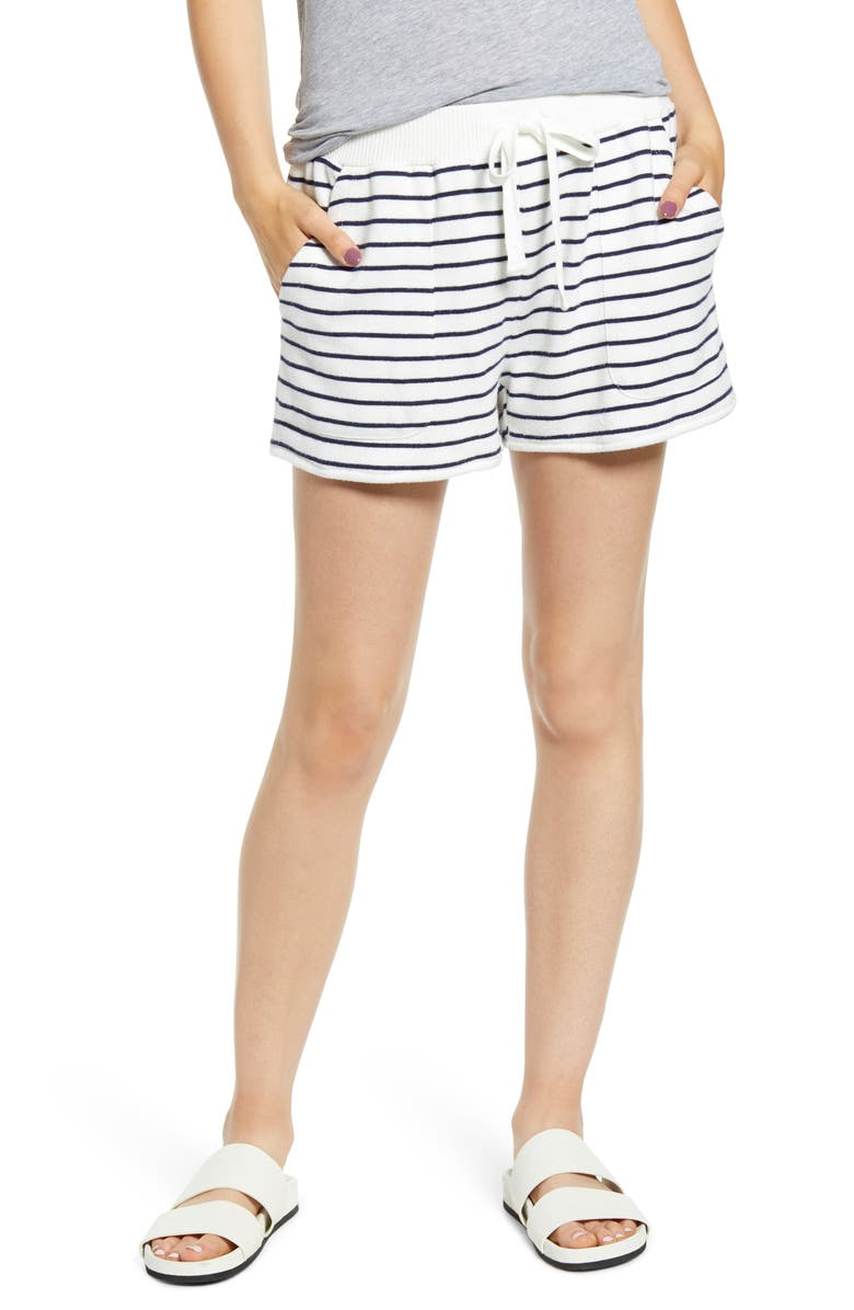 RAILS Robin Drawstring Waist Shorts, Main, color, MARA STRIPE